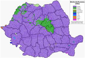 Ethnic map (2002 census)