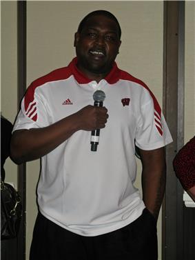 Ron Dayne in 2010.