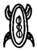 The rongorongo glyph on the mo'ai pakapaka