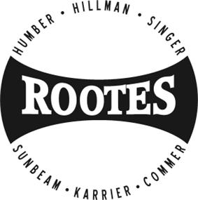 Rootes Group company logo.