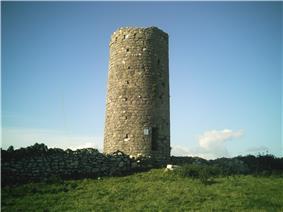 Photo of Roscam Irish Round Tower County Galway Ireland