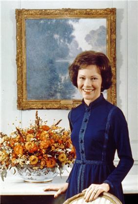 Portrait of Rosalynn Carter