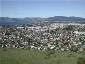 Skyline of Rotorua