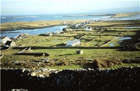 Ireland Roundtower Killeany Aran Islands