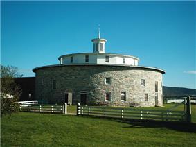 The Round Barn at Hancock Shaker Village
