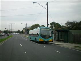 Docked at the Bulleen Terminus