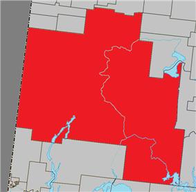 Location with surrounding municipalities.