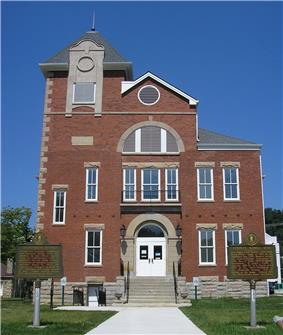 Rowan County Arts Center in Morehead. (Formerly Rowan County Courthouse)