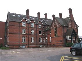 View of the Royal National College for the Blind, Hereford