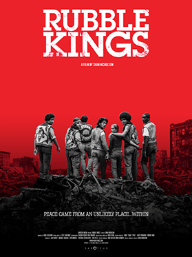 A film poster for the film Rubble Kings