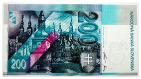 200 korún reverse