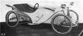 Rudge Cycle Car at 1912 Olympia Show