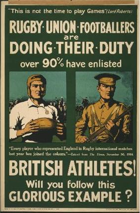 World War I recruitment poster