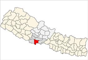 Location of Rupandehi