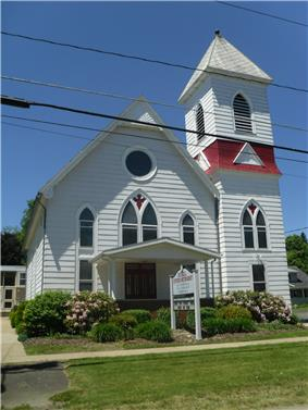 Russel United Methodist in Pine Grove Township