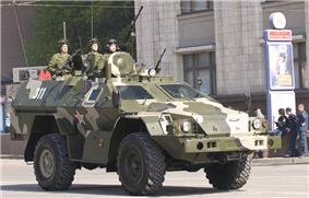 Russian BPM-97 in 2010