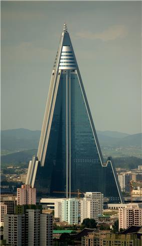 Ryugyong Hotel.