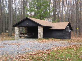 S.B. Elliott State Park Family Cabin District