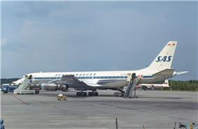 Four-engined jetliner