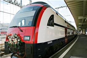 RABe 514 in Zürich Löwenstrasse