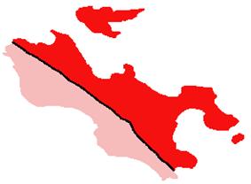 Location of Baie Sainte Anne District on Praslin Island, Seychelles