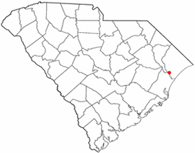 Location of Bucksport inSouth Carolina
