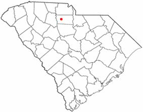 Location of Gayle Mill, South Carolina