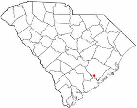 Location of Goose Creek, South Carolina