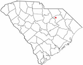 Location of Hartsville, South Carolina