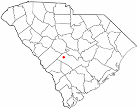 Location of Livingston, South Carolina