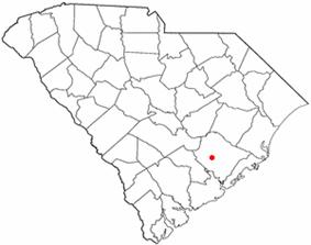 Location of Moncks Corner, South Carolina