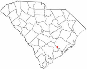 Location of Summerville, South Carolina