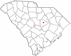 Location of Sumter in South Carolina