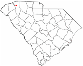 Location of Travelers Rest, South Carolina