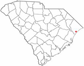 Location in Horry County, South Carolina