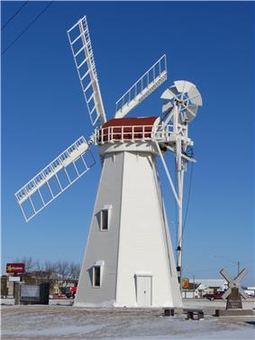 Holland Grist Windmill, Milbank