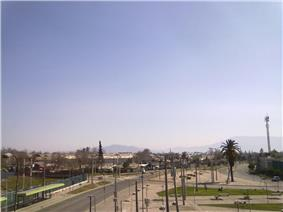 Avenida Senador Jaime Gúzman in Renca