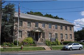 Township municipal building in Sergeantsville