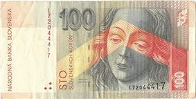 100 korún obverse