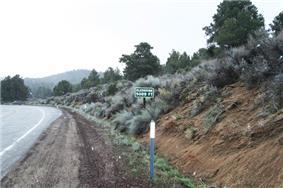 Walker Pass highest elevation
