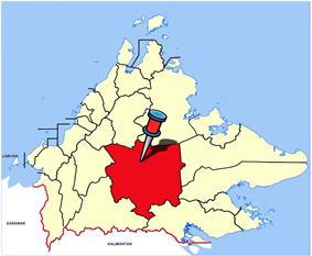 Location of Tongod
