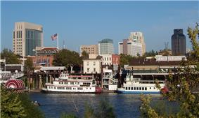 The Sacramento Riverfront