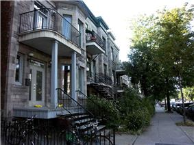 Saint Denis Street in the Rosemont neighbourhood.