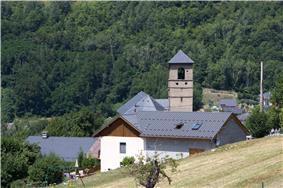The church in Saint-Martin-sur-La-Chambre