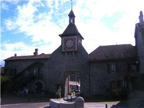 Town gate of Sant-Prex