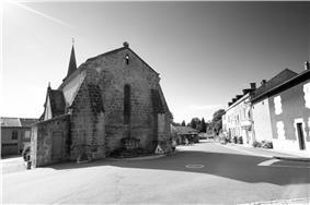 The church in Saint-Pardoux
