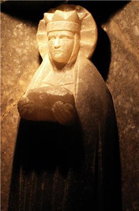 St Barbara's statue