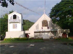 Parish Church of St. Michael the Archangel in Brgy. San Vicente