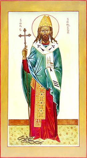 Icon of Saint Samson of Dol]