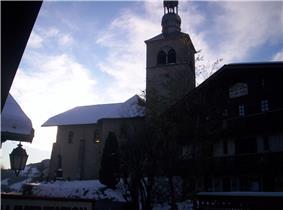 The church in Saint-Nicolas-la-Chapelle